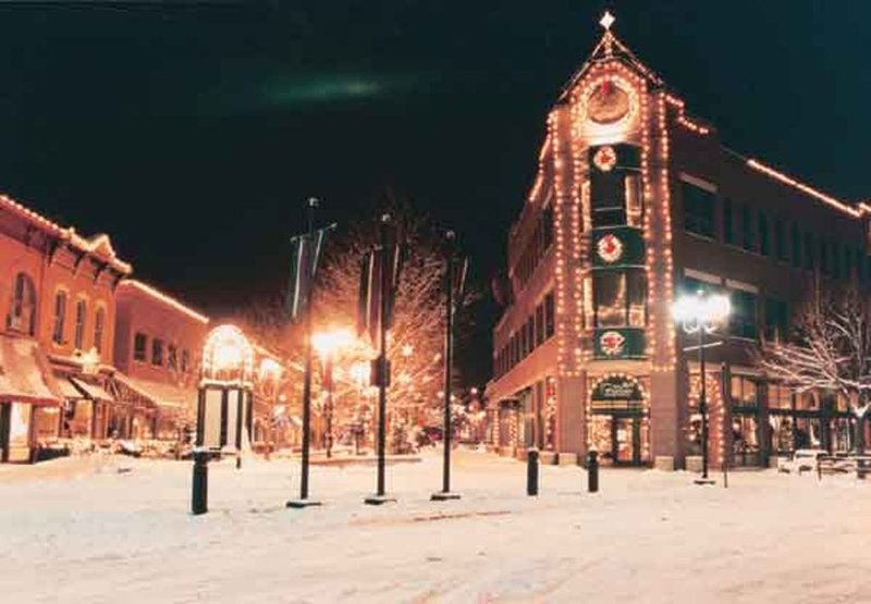 Old Town in winter