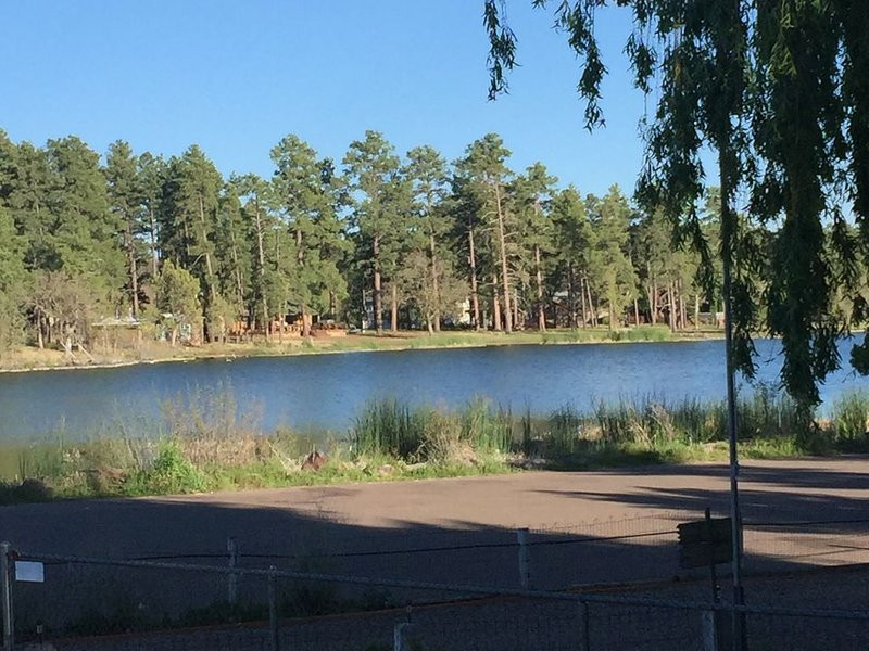 Beautiful Lake Views at this Cool and Clean - Dog Friendly home on Rainbow Lake, location de vacances à Pinetop-Lakeside