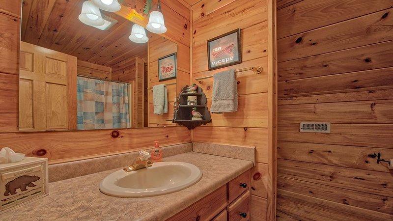 Salle de bain n ° 2 à l'étage