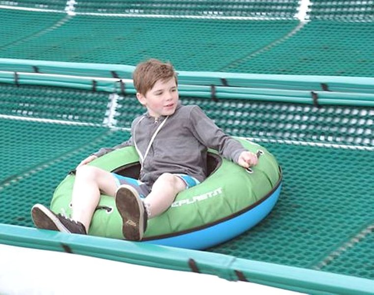 Tubing Hill on SHARC grounds