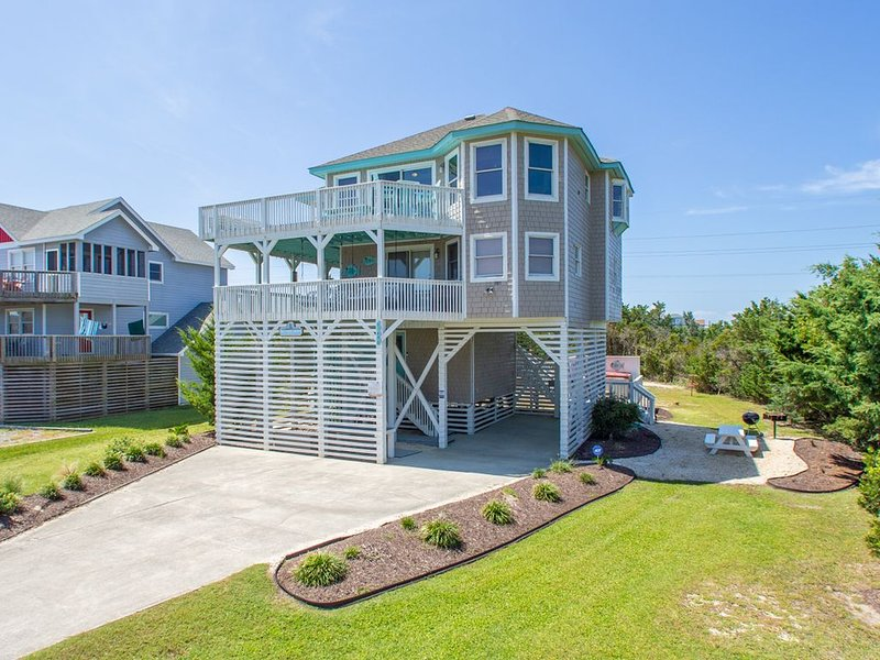 Private HGTV Inspired Beach Cottage Gorgeous 4 BR 2 BA ~ Luxury SemiOceanfront, alquiler de vacaciones en Avon