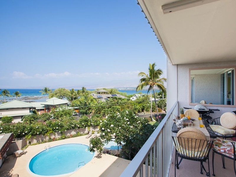 Puako Condo 405 - Fine Designed Ocean View Top Floor Unit, vacation rental in Kawaihae