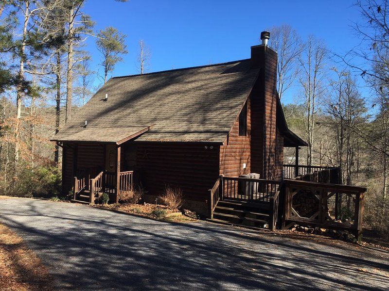 Twin Creeks has a beautiful wooded setting, vacation rental in Epworth