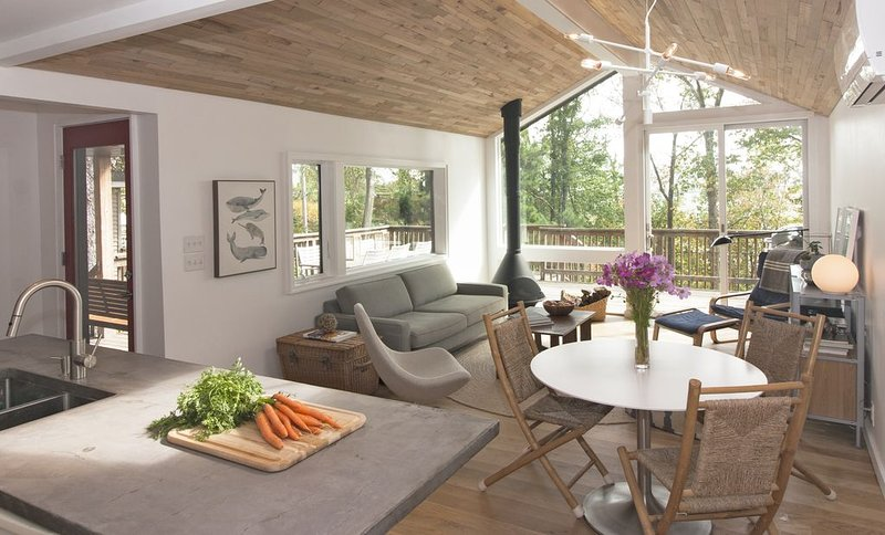 Modern Cabin Just Over An Hour From NYC!, alquiler de vacaciones en Warwick