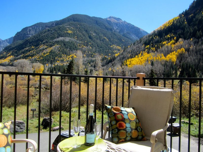 EXTRAORDINARY VIEWS WITH EXCEPTIONAL LOCATION / FLEXIBLE CANCELLATIONS, Ferienwohnung in Telluride