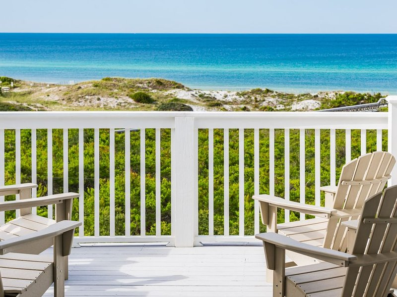 Amazing New Beach House w/Unobstructed Gulf Views!  50' Pool! 5 Master Suites!, vacation rental in Inlet Beach