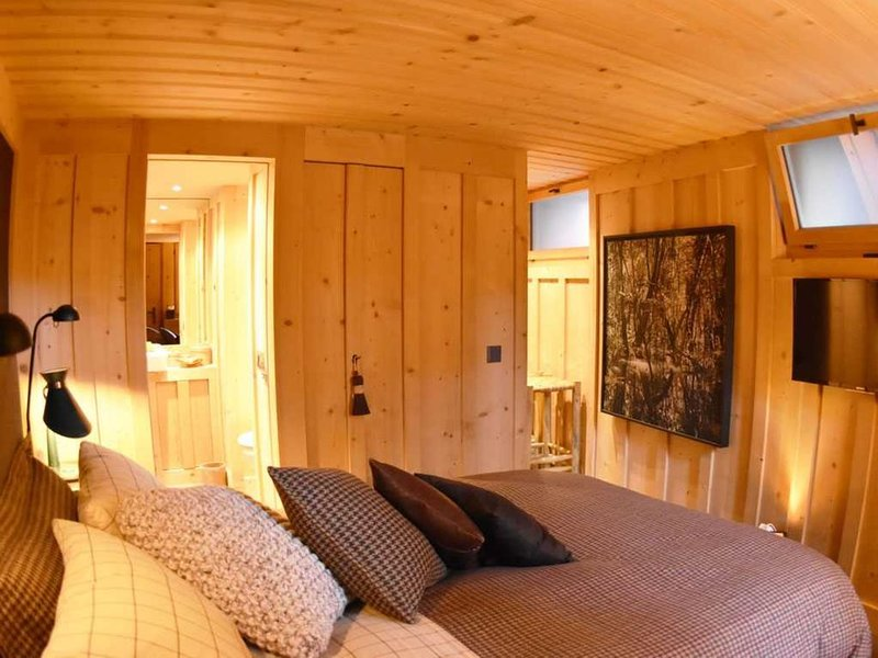 Charming Upscale Studio in 1689 Chalet on Main Village Square, vacation rental in Chateau-d'Oex