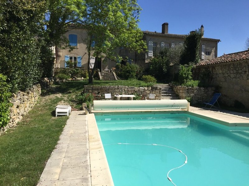 Set in the idyllic and very peaceful village of Plieux, vacation rental in Lavit