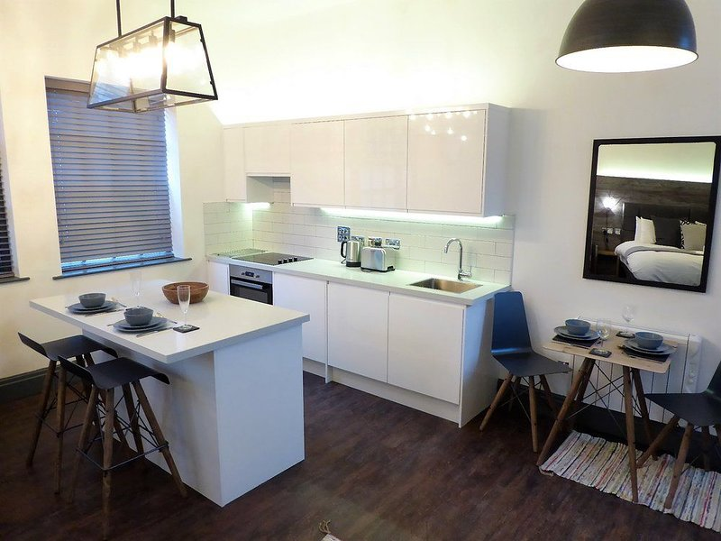Studio at The Coach House Apartments, holiday rental in Leeds