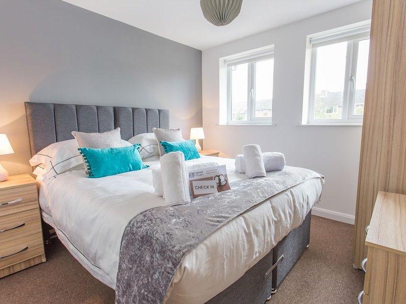 The Nuffield Stylish Modern Contemporary 1 Bedroom Apartment in Headington, vacation rental in Stanton Saint John