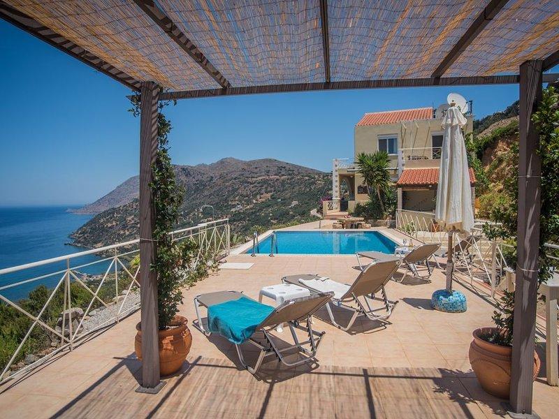 Green note villa sunset, een hemelse plek onder de zon, location de vacances à Ravdoucha