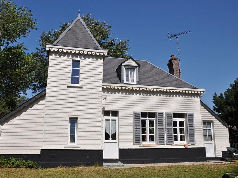 Fort Mahon Plage: Authentique Pavillon de chasse - Côte Picarde, alquiler de vacaciones en Fort-Mahon-Plage