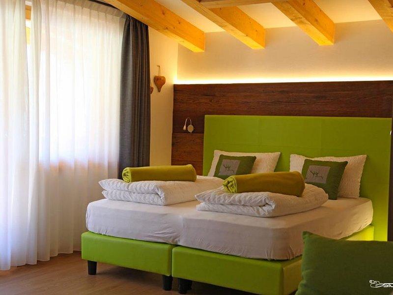 Meravigliosa Suite 'Vioz' in Residence a Peio, holiday rental in Comasine