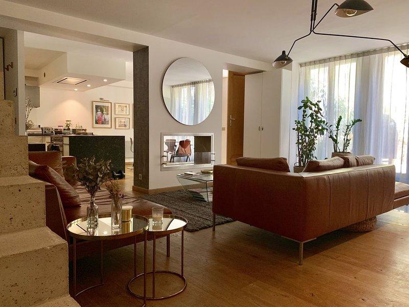 Atelier Loft Paris Mouzaïa Buttes Chaumont, vacation rental in Le Pre Saint Gervais