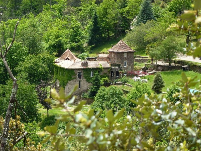 Character Gites in Southern France. Stunning Views, Pool, River Swimming, holiday rental in Saint-Michel-de-Deze