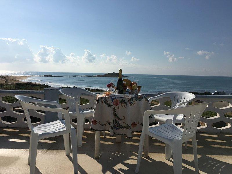 villa fascinosa vista mare, alquiler de vacaciones en Portopalo di Capo Passero