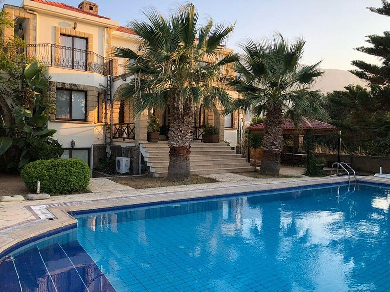 Super Villa for rent 100m. from the sea, holiday rental in Lachi