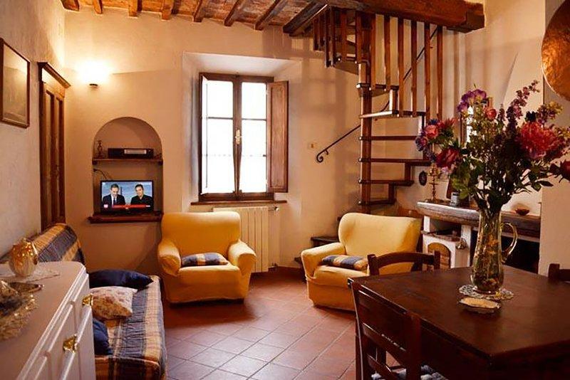 La Casa Di Mina. Appartamento - Piloni, location de vacances à Roccastrada