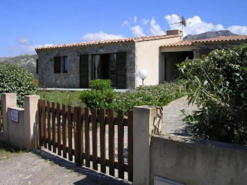 Secteur Lumio:Site exceptionnel; villa bord de mer – semesterbostad i Calvi