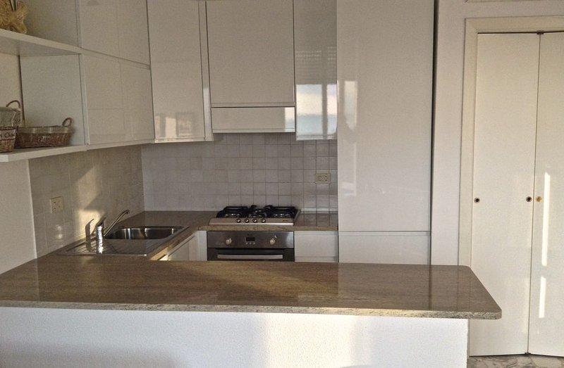 Grazioso appartamento ubicato di fronte alla spiaggia con vista mare, holiday rental in Pietrasanta