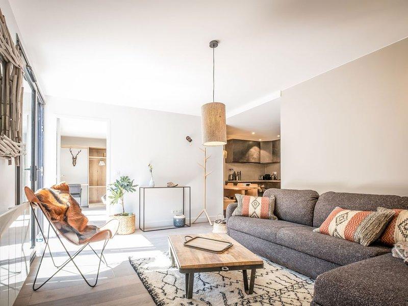 Appartement de 48m2 avec terrasse de 17m2 à Valloire au pied des télécabines, location de vacances à Valloire