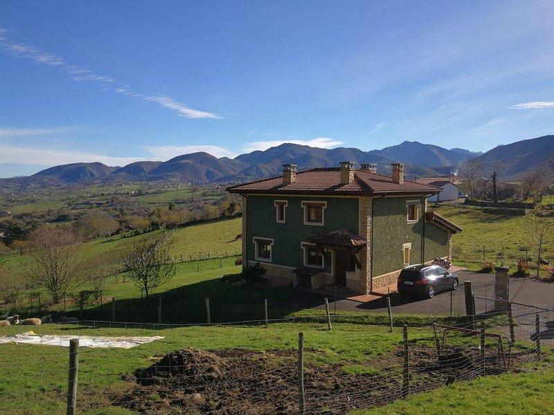 Casa Verde de Bierces, vacation rental in Campiellos