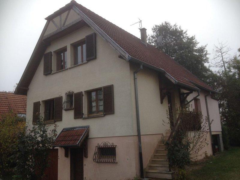 Maison de vacances Alsace coeur du vignoble, holiday rental in Trois-Epis