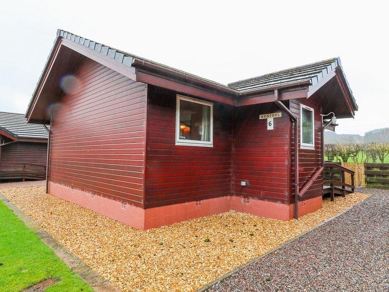 Kestrel Lodge, DUMFRIES, location de vacances à New Abbey