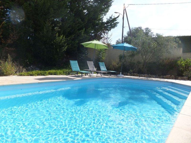 South of France Villa with pool, aluguéis de temporada em Roujan