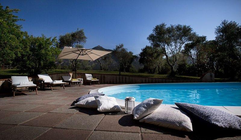 Iglesias ,villa immersa in un parco di 7000 mq, fino a 12 persone, vacation rental in Province of Carbonia-Iglesias