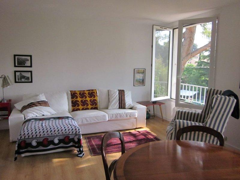 Villa charmant avec jardin - 4 personnes, location de vacances à Hyères