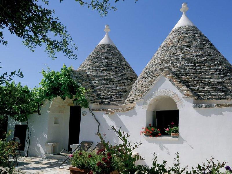 Il Trullo del Melograno è  una accogliente e romantica struttura per famiglie, holiday rental in La Fica
