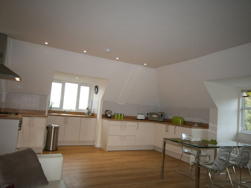 SPACIOUS SERVICED APARTMENT 2 BEDROOMS & 2 BATHROOMS  IN THE HEART OF AYLESBURY., holiday rental in Long Crendon