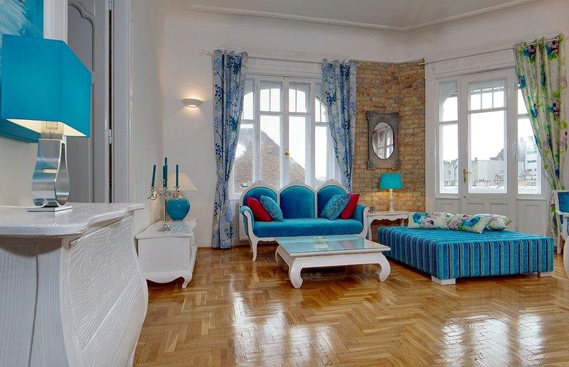 Luxury renovated flat, Király street, alquiler vacacional en The Republic of Zubrowka