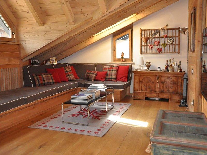 Mansarda di charme in pieno centro a Selva di Val Gardena, casa vacanza a San Cassiano