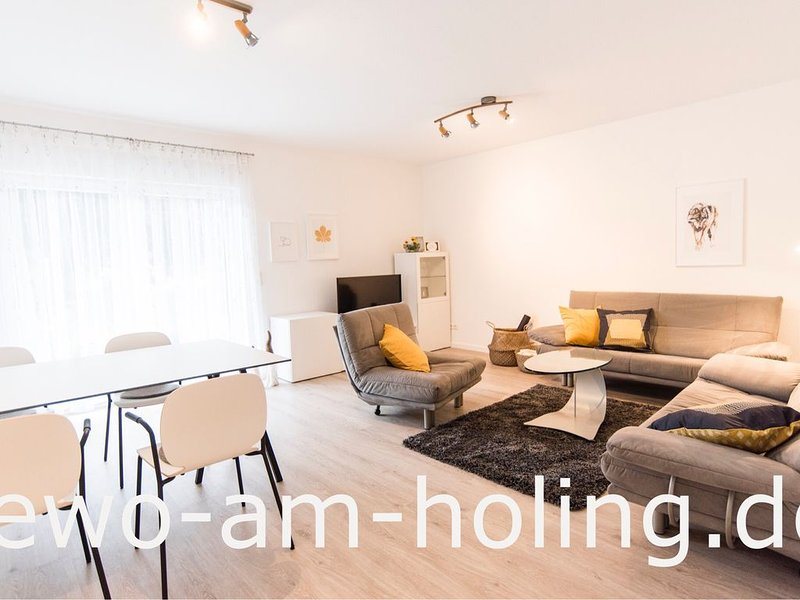 NEU! Modern eingerichtete Ferienwohnung in ruhiger Ortsrandlage Nähe Aartalsee, casa vacanza a Lahnau