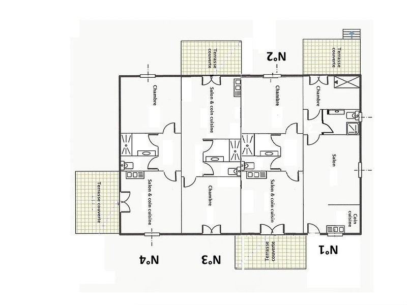 Villa 4 plan