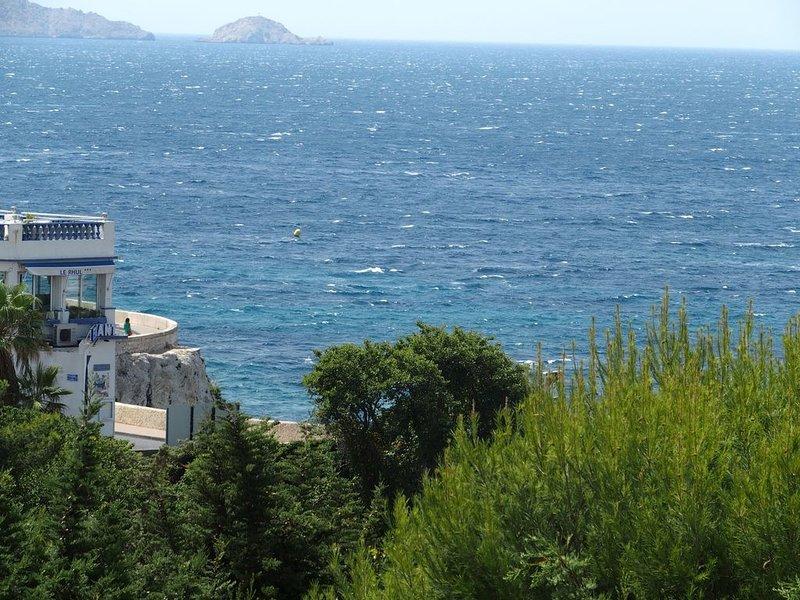 Un balcon sur la mer. Une chambre en ville, casa vacanza a Marsiglia