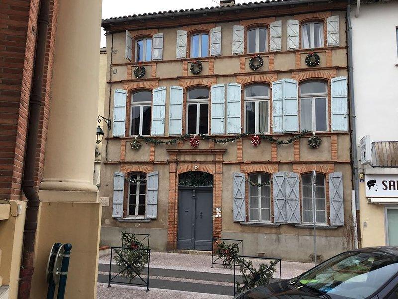 chambre  dans Gîte/ch d'Hotes dans le Centre Ville de Moissac, holiday rental in Meauzac