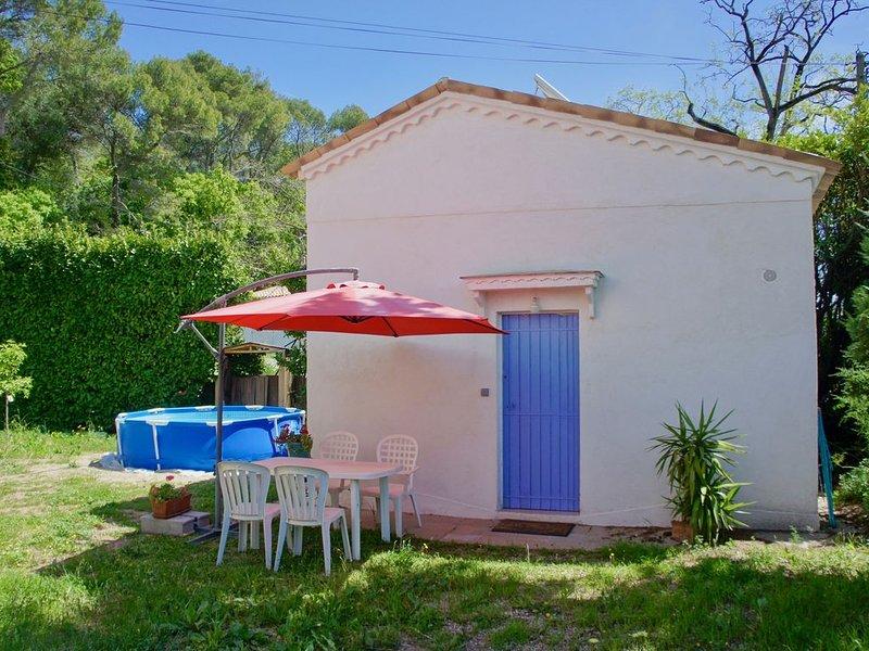 Studio Olivia indépendant avec jardin / Piscinette, casa vacanza a Roquefort les Pins