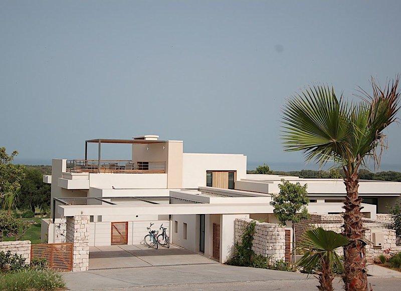 Sur le Golf de Mogador, splendide Villa,vue sur Océan, piscine privée chauffée, alquiler de vacaciones en Esauira