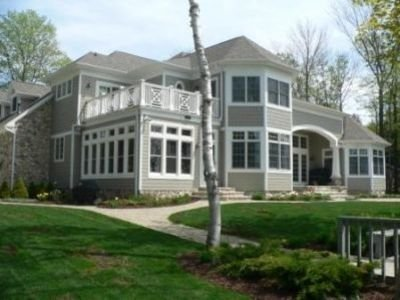 White Cliff Water Front Home, the Finest in Door County!, location de vacances à Egg Harbor