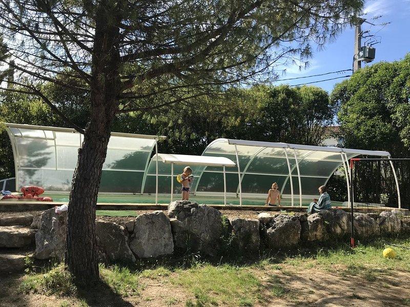 VILLA AVEC PISCINE PROCHE D'ANDUZE (CEVENNES), location de vacances à Bagard