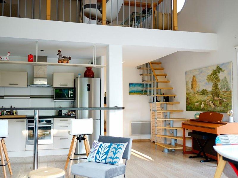 Jolie villa récente 3 chambres, 100 M de la plage Chatelaillon Plage, holiday rental in Saint Vivien