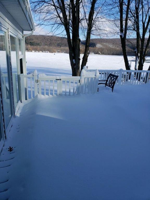 Pretty even in snow!