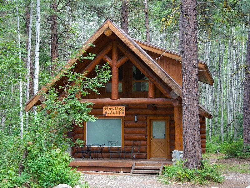 Howling Wolf Cabin-Ski Trail Access!, holiday rental in Mazama