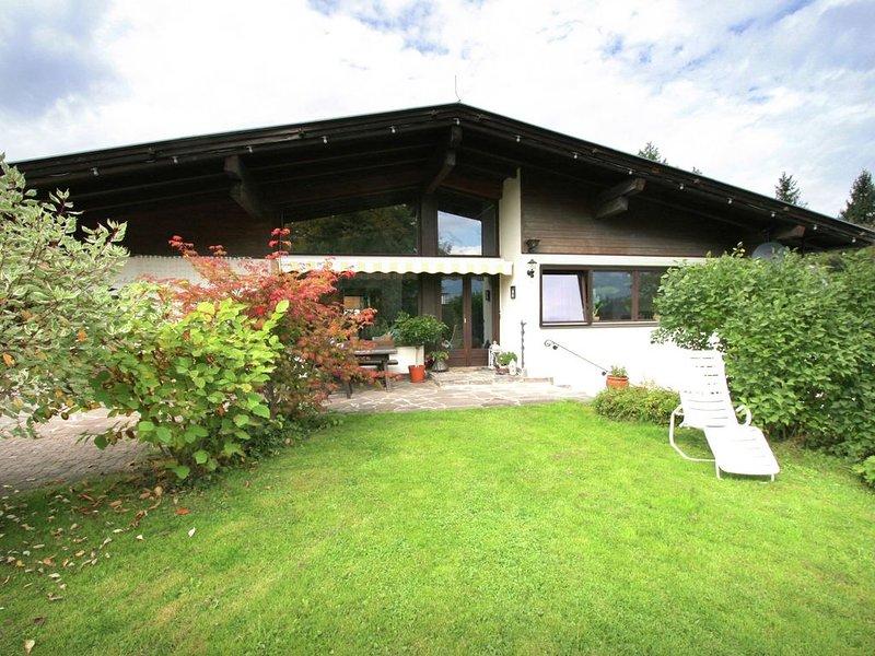 Pleasant Apartment with Sauna, Terrace,Garden,Darts, Parking, vacation rental in Hopfgarten im Brixental