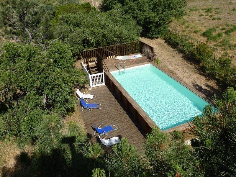 Villasacellini,Villa T2,mitoyenne Bala 5 km de Porto Vecchio classé *** Etoiles, vacation rental in Porto-Vecchio