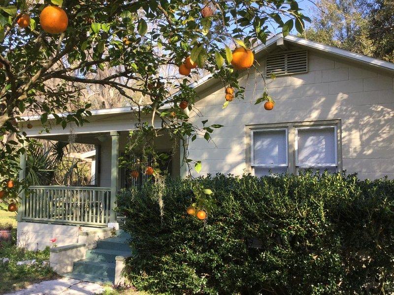 Orange Blossom in Historic McIntosh, alquiler de vacaciones en Reddick