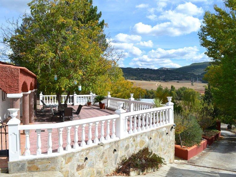 Casa rural (alquiler íntegro) La Noguera para 10 personas, alquiler vacacional en Fuertescusa